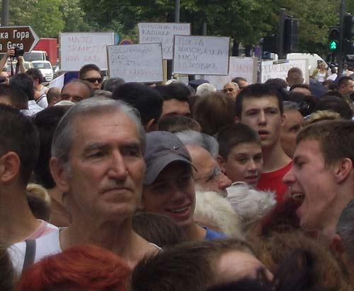 Merkator Novi Sad, protest nezaposlenih