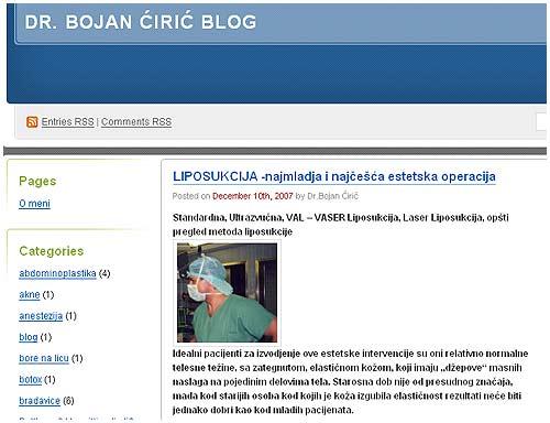 estetska hirurgija blog