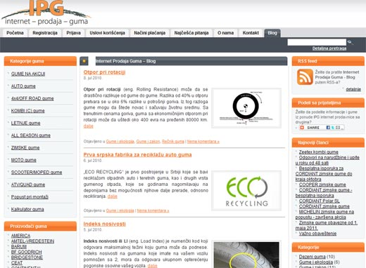 prodaja guma blog
