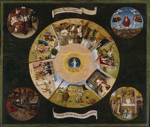 Hieronymus Bosch Seven Deadly Sins