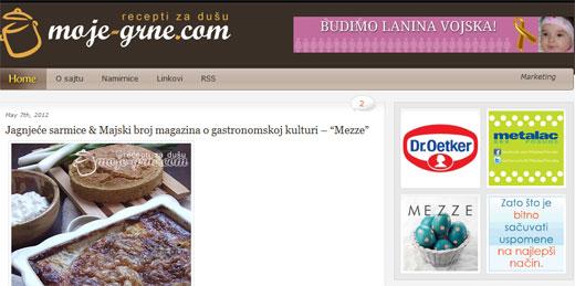 Moje-grne.com kulinarski blog