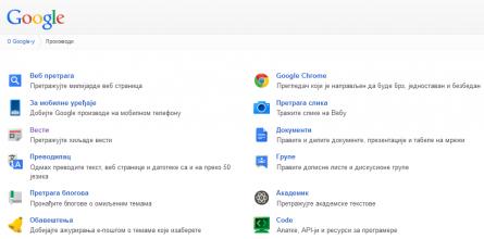 google-proizvodi
