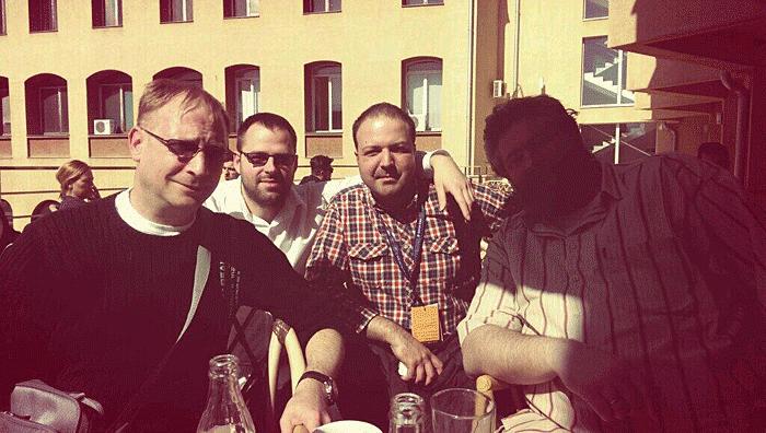 Varagic, Pavle Savovic, Istok Pavlovic, Dejan Nikolic