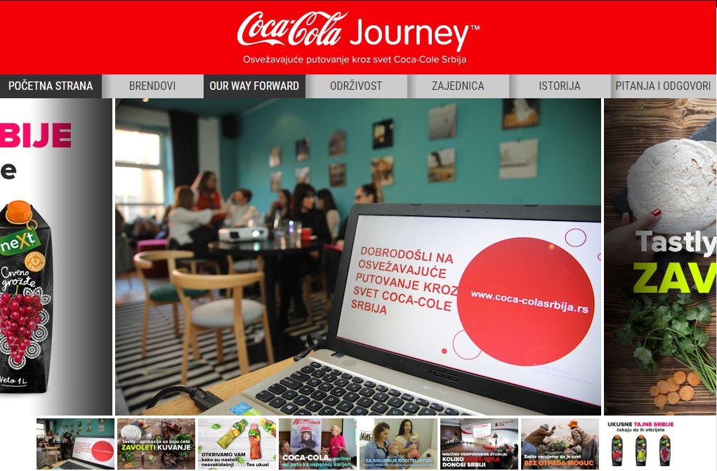 coca-cola journey srbija