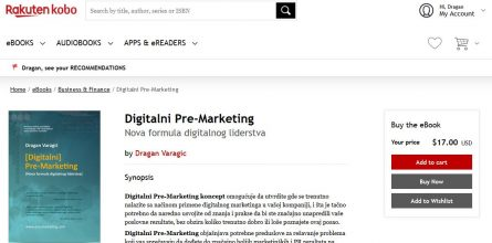 ebook kobo digitalni pre-marketing